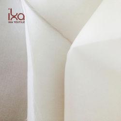 Natürliches Satin-Organza-Gewebe des Weiß-12mm reines Silk für Hochzeits-Kleid