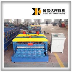 Kexinda 1080 광택 타일 컬러 루프 롤 성형 기계