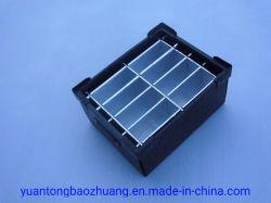제조자는 파란 물결 모양 플라스틱에 의하여 전문화된 케이스 & 상자를 주문을 받아서 만들었다