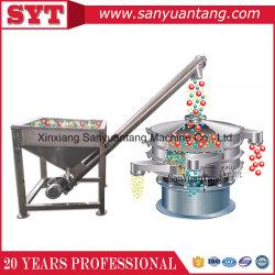 Aço inoxidável 304 ao redor do sem-fim do transportador de parafuso da tremonha de sal em pó