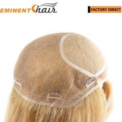 На заводе прямой шелк лучшие бразильские Реми кружева волос волосы женщин замена