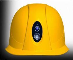 La police Wearable 4G WiFi GPS HD Casque de sécurité caméra avec voyant Bluetooth
