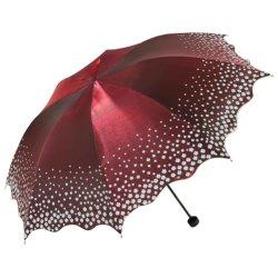 De 45-duim van de Paraplu van Upf 50+ de UV Wind Bestand Paraplu van de Regen met 8 Ribben