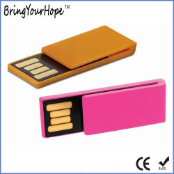 قرص USB Flash لمشبك الورق الصغير (XH-USB-123)