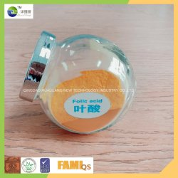 De Rang Folic Zure CAS Nr 59-30-3 van het Voer/van het Voedsel van de Levering van de fabriek