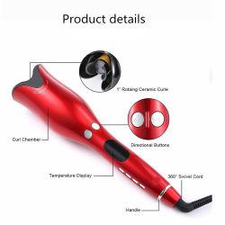 Оптовая торговля 2019 керамические PRO ЖК-дисплей для завивки волос для завивки волос Tec Magic автоматические щипцы для завивки