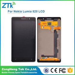 Жк-дисплей в сборе для Nokia Лумия 820 сенсорного экрана