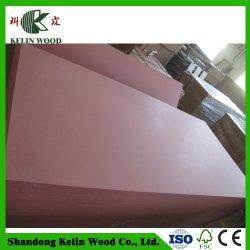 Fibra de madeira e Material Moisture-Proof /Fire-Proof apresentam Verde/Vermelho placa MDF