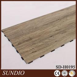 Finition bois bois décoratifs au panneau de plancher stratifié