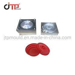 Taizhou Jtp Moule simple cavité d'Injection Plastique Panier de stockage utile avec couvercle moule