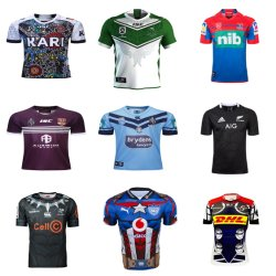 Les Maroons de gros Blues chevaliers Stormers Nrl maillots de rugby
