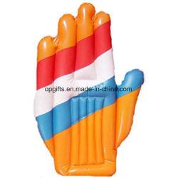 PVC promocional OEM aclamando mano inflables