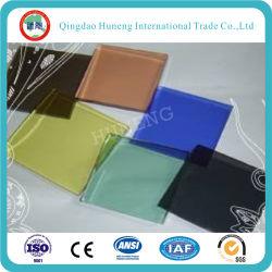 4-8 مم أزرق داكن/أخضر داكن/برونزي/رمادي/أزرق مخضر/زجاج عائم فاتح/زجاج معوم لامع/زجاج ملون مع ISO