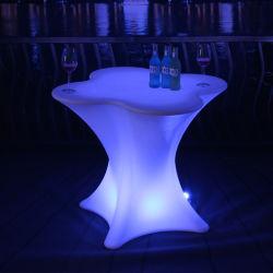 Светодиодный индикатор мраморный обеденный стол для бар и холл мебель