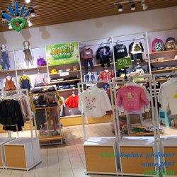 Het kledingstuk kleedt Opslag van het Ontwerp van de Jonge geitjes van de Decoratie van de KleinhandelsWinkel de Binnenlandse