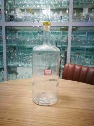 Grosse Größen-Glasflasche für Wein, Whisky, Wodka, harter Alkohol-Verpackung 1750ml