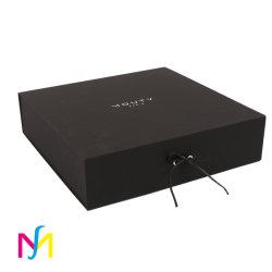 Usine de gros de pliage de l'aimant le papier à plat Pack Box Boîte cadeau magnétique de luxe avec fermeture magnétique