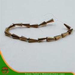 6*12mm Crystal Bead, bouton Pearl perles de verre accessoires (HAG-06#)