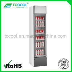 Dünner Typ Bildschirmanzeige-Kühlvorrichtung für Supermarkt u. Speicher