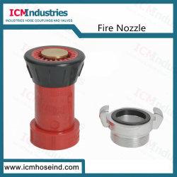 Rote Plastikspray-Strahlen-Feuer-Schlauch-Düse für Feuerbekämpfung