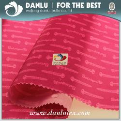 210t печать логотипа карман боковины ткани для мода сумки