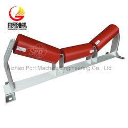 De Rol die van de Transportband van de Riem van het Staal van de Trog van SPD op Mijnbouw/Ijzererts/Cement/Haven/Chemisch product/het Vervoer van Machines van toepassing zijn