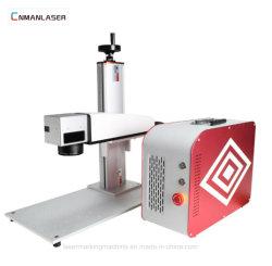 10W 20W de Draagbare Teller van de Laser van de Vezel voor de Apparatuur van het Metaal/van de Laser