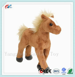 Venda a quente Brown Pónei recheadas Cavalo de pelúcia Toy