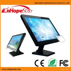 터치 스크린 기능이 있는 19인치 와이드 스크린 LCD