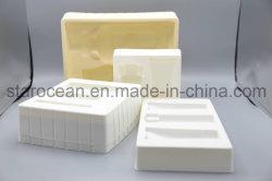 De Blaar die van pvc PS van de douane Plastic Dienblad verpakken die Doos vouwen