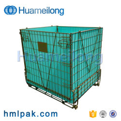 中国の産業熱い販売の折りたたみ記憶ペットはワイヤー容器を前もって形成する