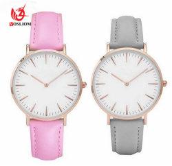 Watches#V789 van de Bestand Kwarts van de bevordering Elegantie van het Polshorloge van Dame Dress Watch Leather Water van de Diamant Toevallige van de Dames van het Horloge Mannen van de Vrouwen