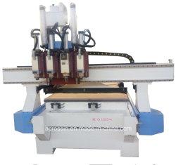 1325 multiCNC van de Machine van de Gravure van het Proces Router met de Pneumatische Wisselaar van het Hulpmiddel voor de Deur van de Houtbewerking