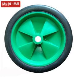 140 mm de goma maciza neumático remolque pequeño juguete ruedas para carros