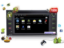 Car Audio estéreo para Toyota RAV4 Camry Corolla Hilux Prado