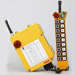 Botón de un solo paso de la grúa de control remoto PC controlador inalámbrico de radio F21-18S