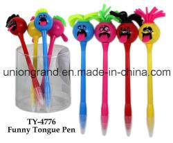 Penna divertente della linguetta