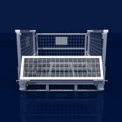 Venda a quente de armazenamento de Depósito de metal soldado Dobrável Recipiente de malha de arame galvanizado