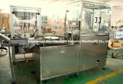 Glass automatico Bottle Ultrasonic Washing Machinery con Fillling Capping Line