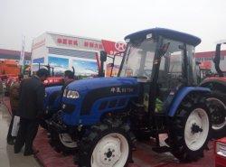 70HP 4WD l'agriculture de la cabine du tracteur et laisser refroidir et conditionneur à chaud