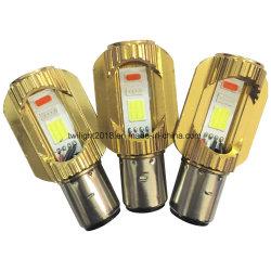 Recém-Ba20d 2-COB azul/vermelho/Lanterna LED luz do carro, a lâmpada da cabeça para a indústria automóvel e moto
