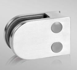 Certificado TUV barandilla de acero inoxidable Abrazaderas de cristal de balaustrada Post/barandilla de vidrio escalera/