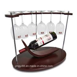 Factory Direct bureau personnalisée Forme unique vin Présentoir