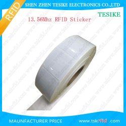 Papier autocollant NFC passive à bas prix Prix/étiquette NFC/balise NFC