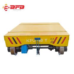 Uso de las plantas de acero de la industria del metal de vagón de transferencia eléctrica on Rails