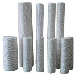A segurança da água potável ferida de cadeia de refil do filtro