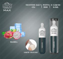 2021 Vape Bang Max e-cigarette jetable OEM avec voyant à LED blanche