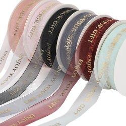 Manchas bronceado inglés nieve de la correa de hilados de embalaje de regalo cinta decorativa de Cinta de opciones de cocción de pasteles