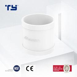 تركيبات أنبوب PVC بأنبوب على شكل حرف T في الصين تركيبات أنبوب أنبوب أنبوب PVC-U توصيل CAN OEM