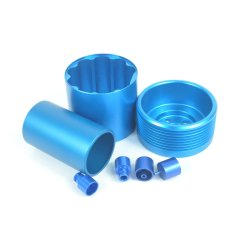 Aluminium verwerking CNC precisie bewerking aanpassing Mechanische Hardware onderdelen verwerking Roestvrijstalen bewerkingsonderdelen
